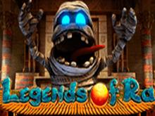 Легенды Ра - игровой слот с выводом денег на Visa